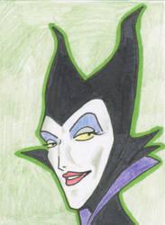 Disney's Maleficent by xEDG3x