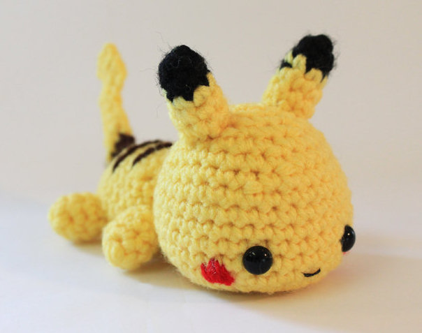 Knitted Pikachu Pattern : Amigurumi Pikachu by joibear on DeviantArt