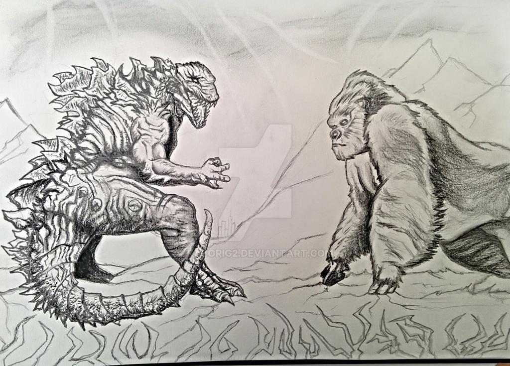 Godzilla Vs King Kong by razorig2 on DeviantArt