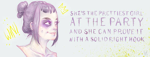 She's the Prettiest Girl at the Party by aber-S