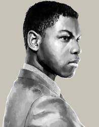 John Boyega by aber-S