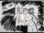 Ink-twenty challenge: Lara by EliseBellatrix
