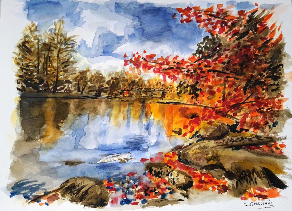 Oxtongue Lake - Ontario, Canada by EliseBellatrix