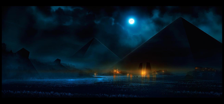 La nuit de Khonsu by UlricLeprovost