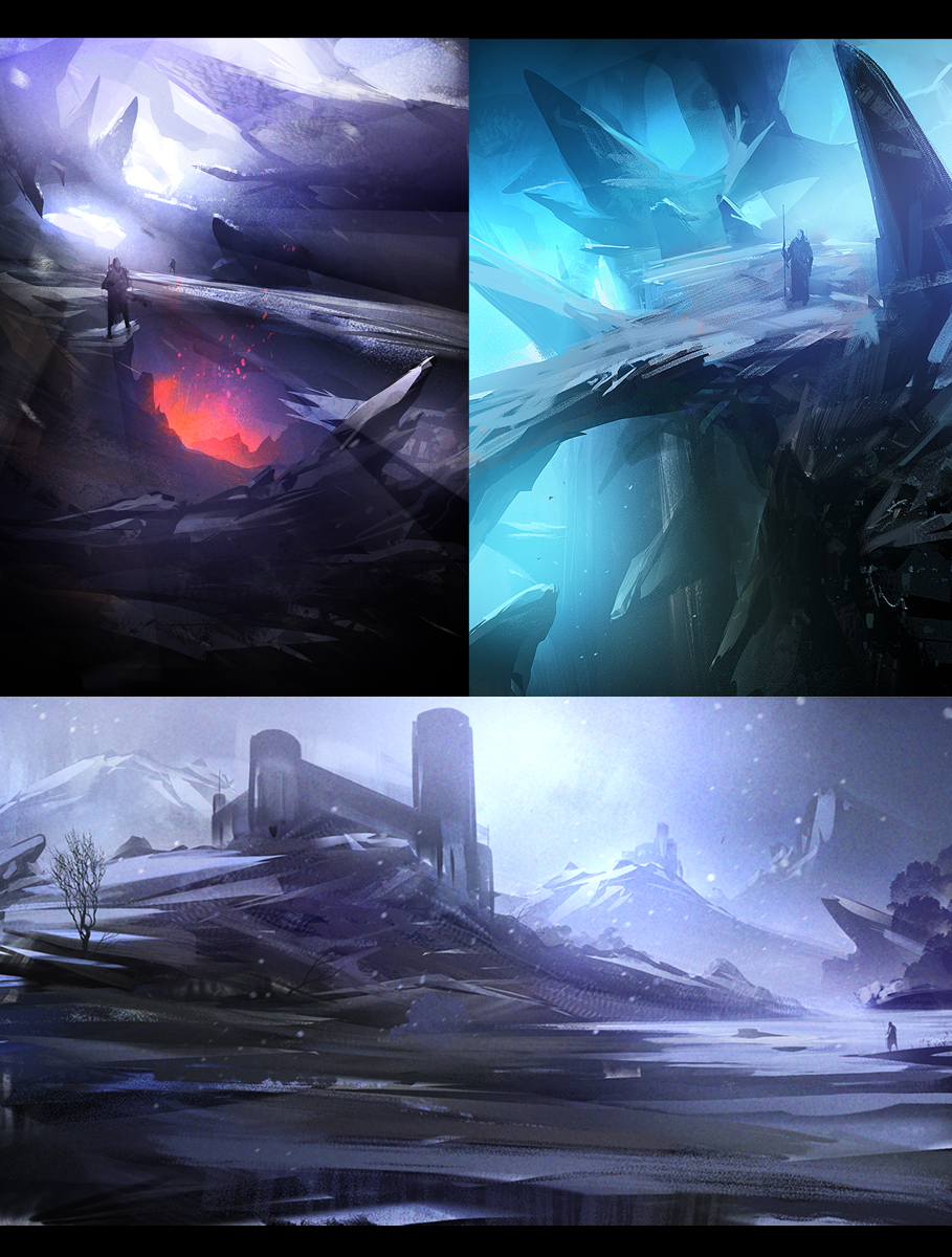 Cold speed painting by UlricLeprovost