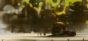 Snail road by UlricLeprovost