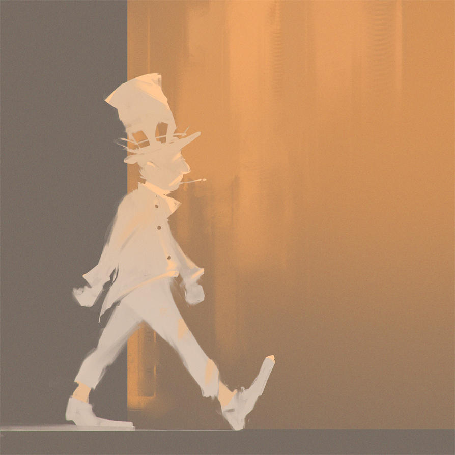 Walk man by UlricLeprovost