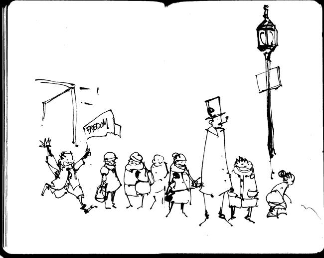 Sketchbook I by UlricLeprovost