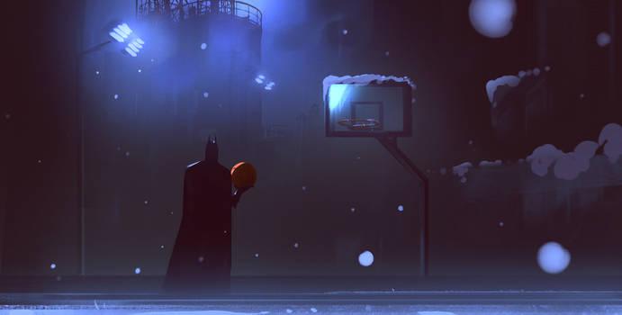 Basketball for a Batman