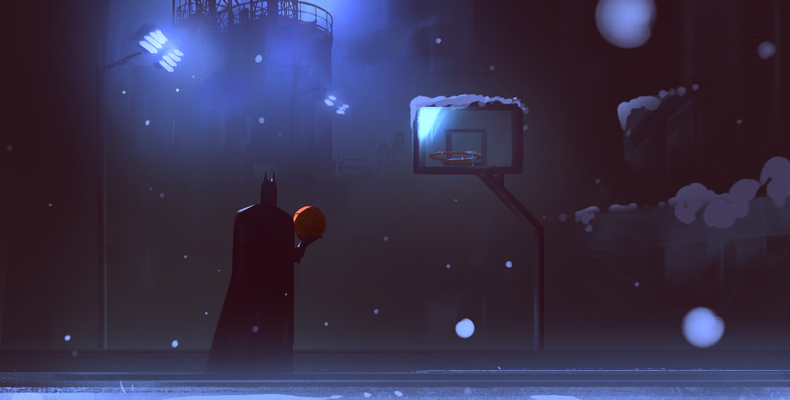 Basketball for a Batman by UlricLeprovost