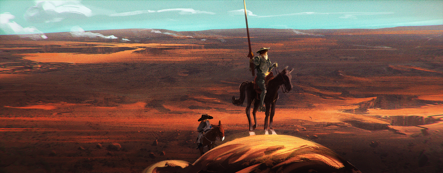 Don quixote by UlricLeprovost