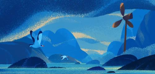 Birds by UlricLeprovost