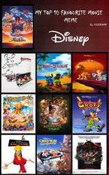 My Top 10 Disney animated films
