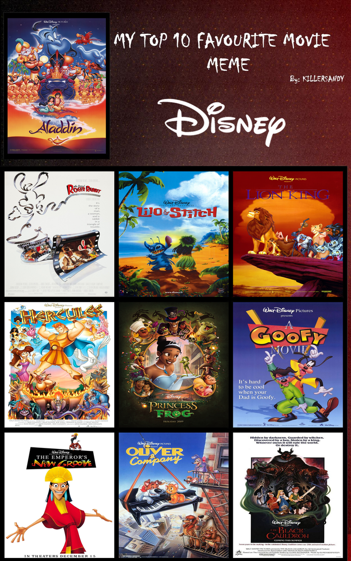 My 10 Must Have Rv Gadgets: My Top 10 Disney Animated Films Picture, My Top 10 Disney