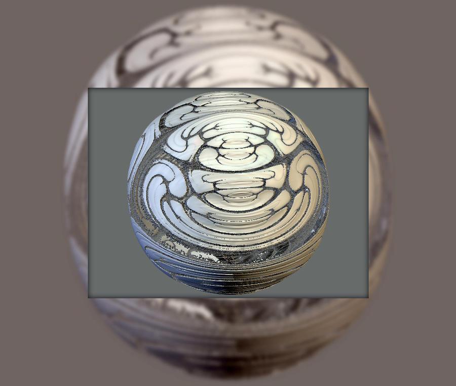druid soccer ball by fractalhead