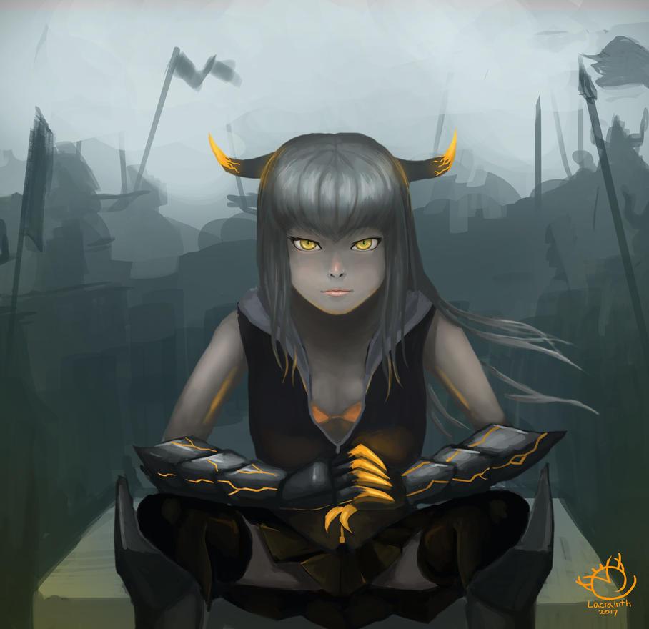 Little Demon by Lacrainth