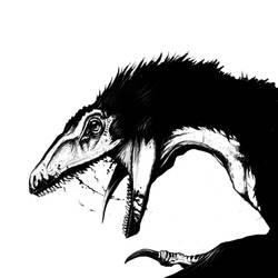 Evil raptor by Rodrigo-Vega