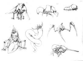 Ugly bugs, not in a good sense by Rodrigo-Vega