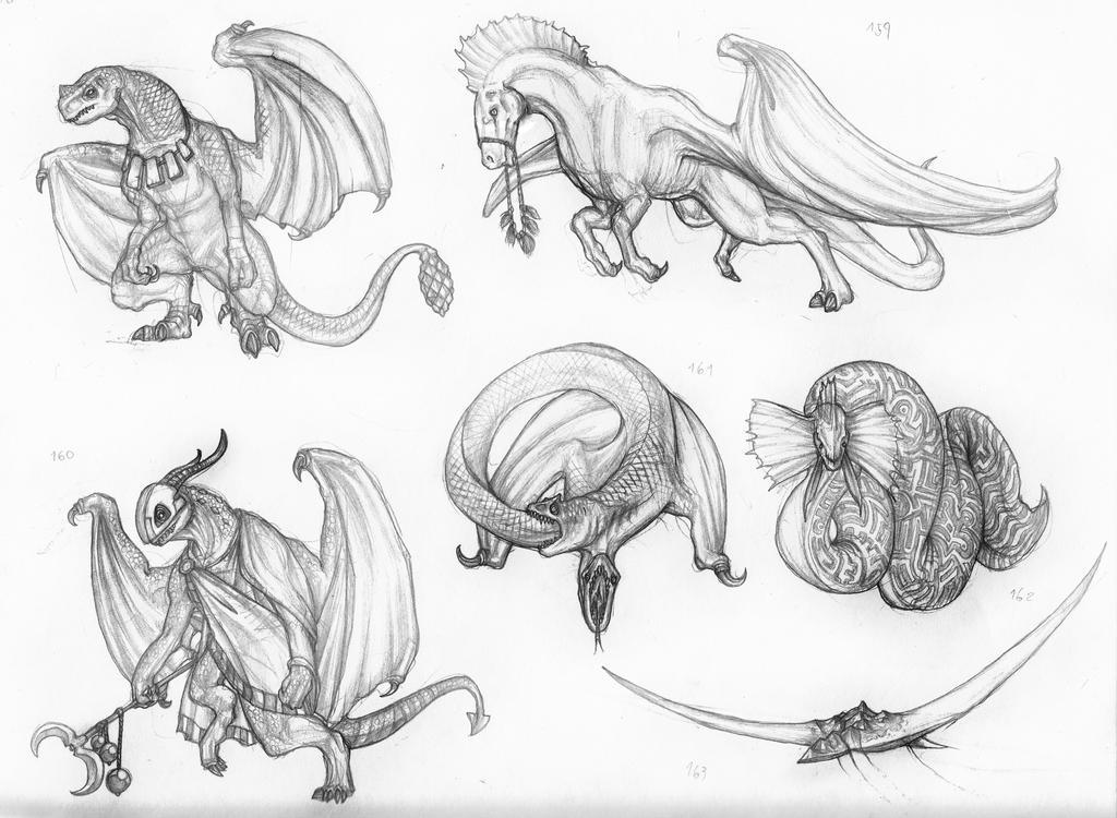 WAM BAM ZAM ZAM (Zambie's Characters) Dragonkind_by_IRIRIV