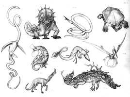 Reptiles by Rodrigo-Vega