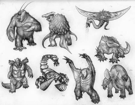 Kaiju monsters,  joking