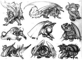 Dragons? crypto dragons? by Rodrigo-Vega