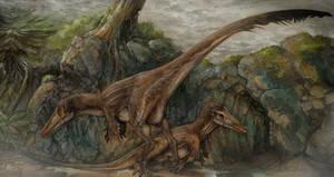 Austroraptor scene