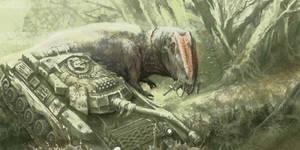 Giganotosaurus vs Tank