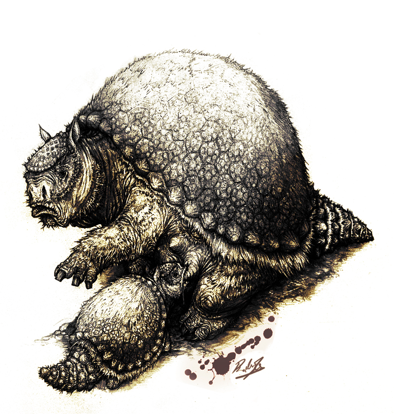 http://fc03.deviantart.net/fs48/f/2009/227/5/4/Glyptodon_clavipes_nursing_by_IRIRIV.jpg