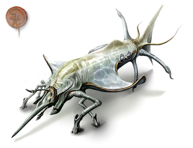 Abiogenisis tribute creature by Rodrigo-Vega