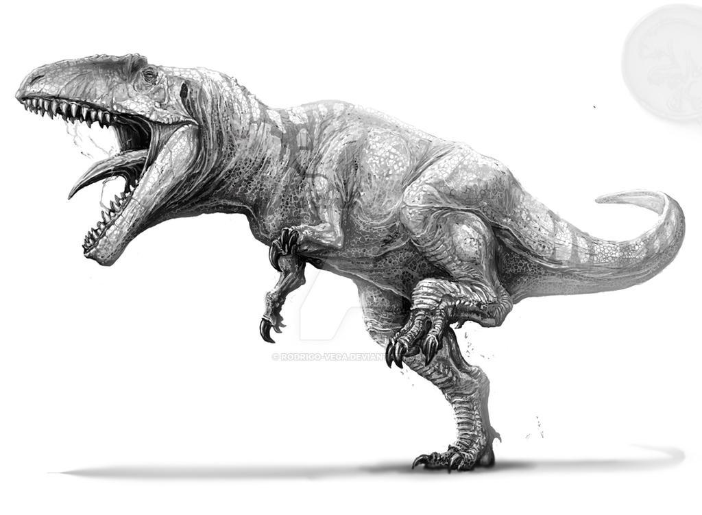 Гигантозавр рисунок