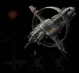 Spaceship by Rodrigo-Vega