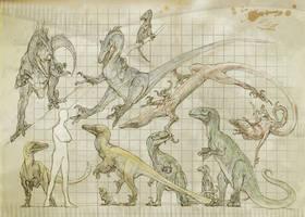 Raptors by Rodrigo-Vega