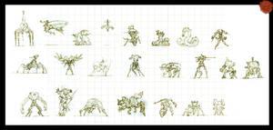 Robot Sketches
