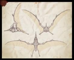 Pteranodon sternbergi ortho by Rodrigo-Vega