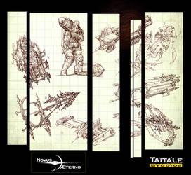 Novus AEterno Sketches