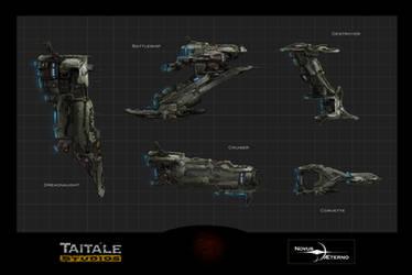 Human Fleet Side Views by Rodrigo-Vega