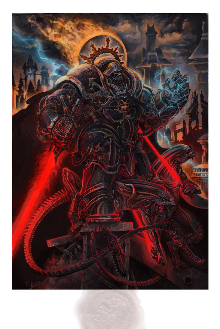 Lord Vader, Rise... by Rodrigo-Vega