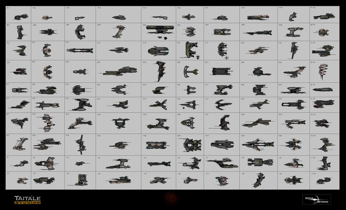 100 Ships. by Rodrigo-Vega