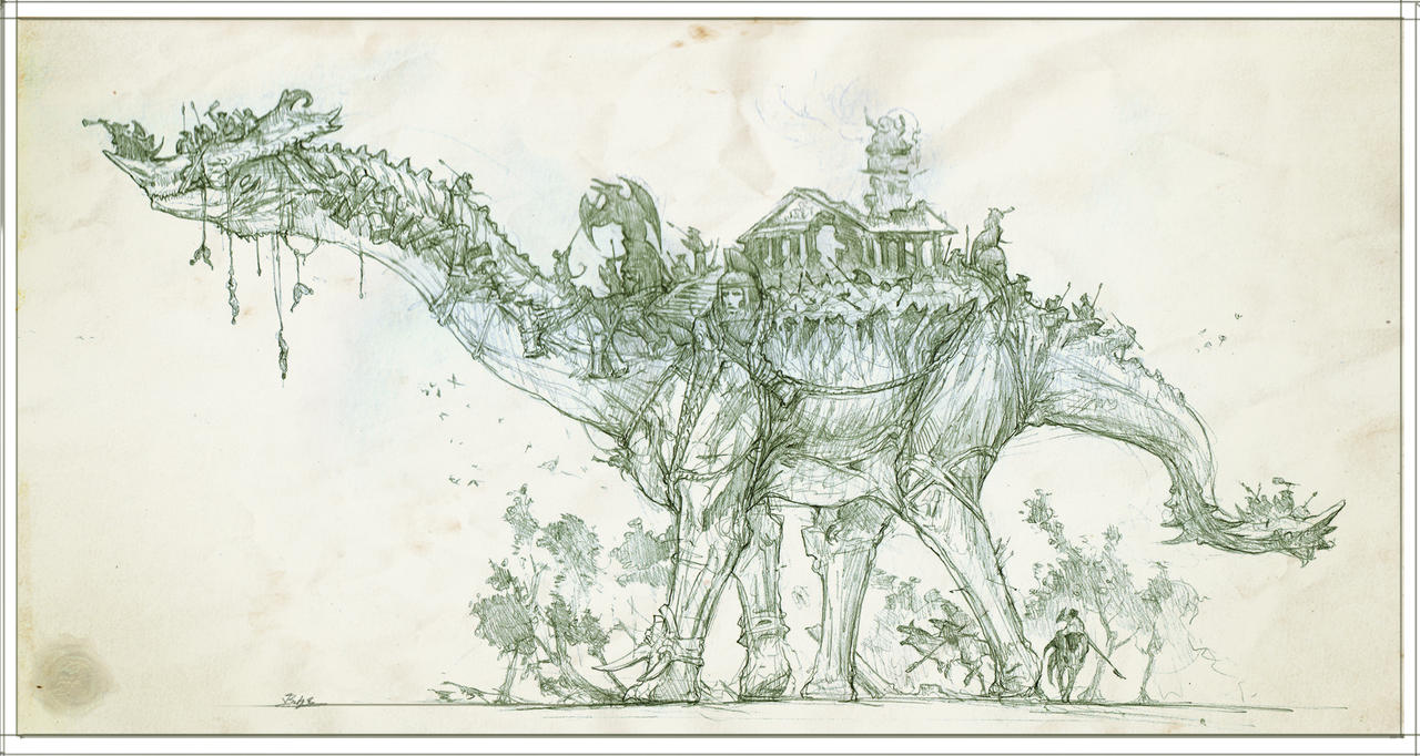 Thunder Lizard by Rodrigo-Vega