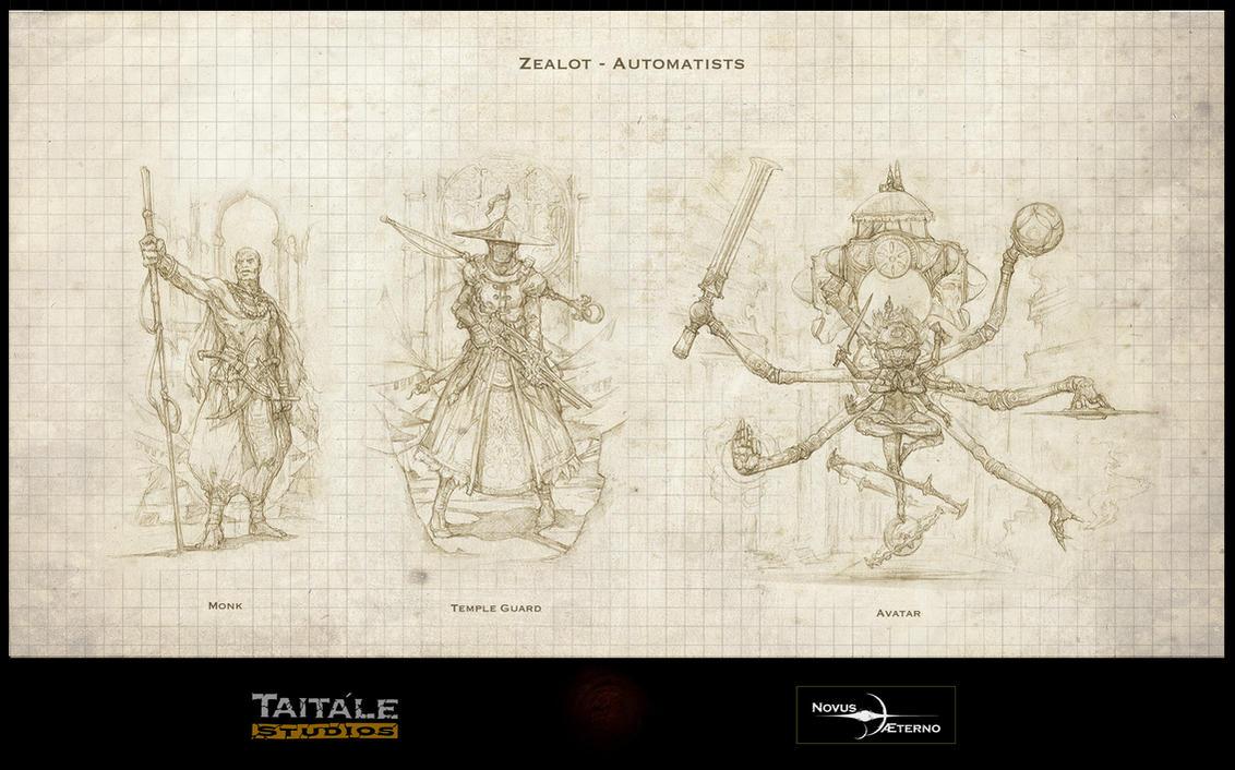 Zealot Automatists by Rodrigo-Vega