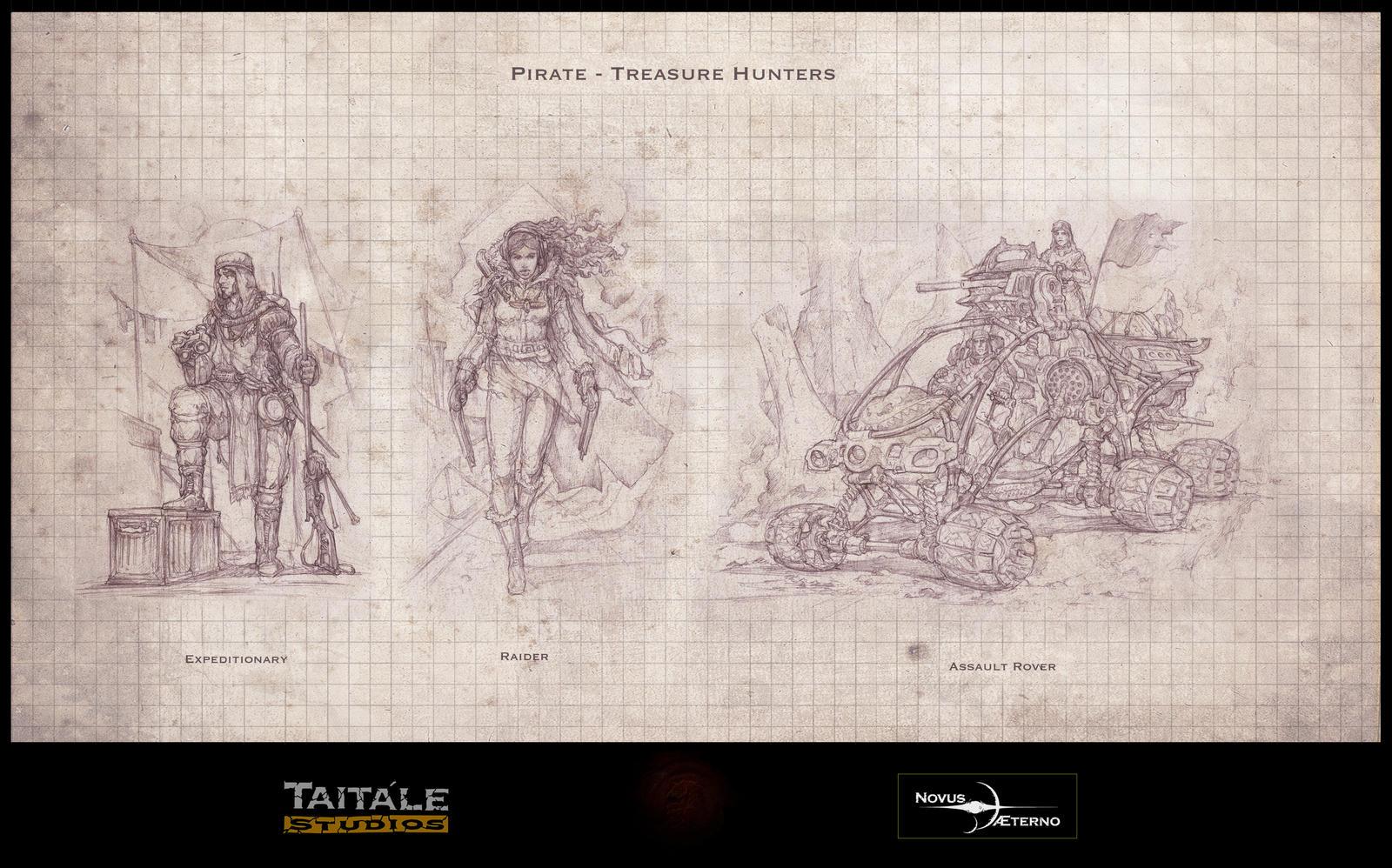 Pirate Treasure Hunters by Rodrigo-Vega