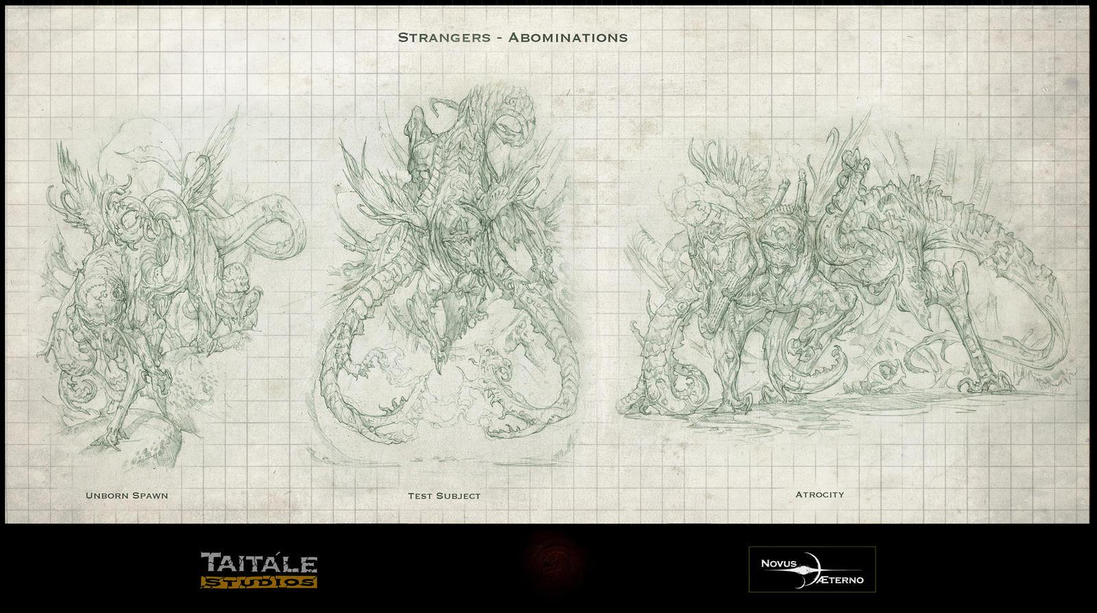 Stranger Abominations by Rodrigo-Vega