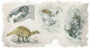 Spinosaurus aegyptiacus All Yestered