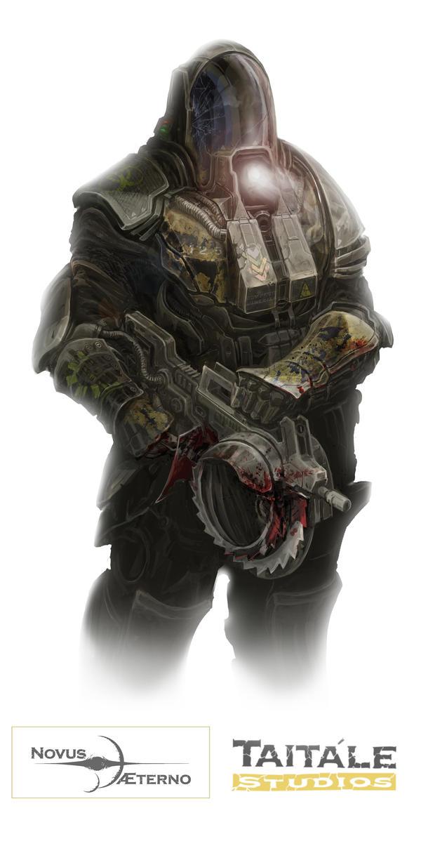 Exterminator Figure by Rodrigo-Vega