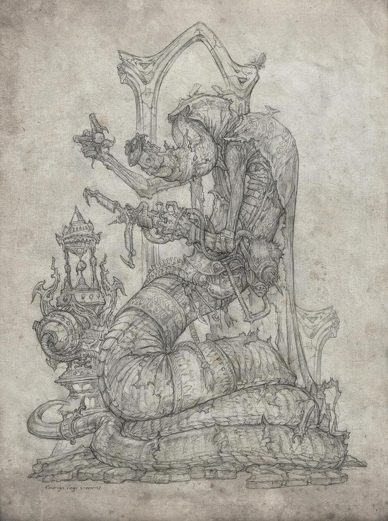 Ophidian Necrops by Rodrigo-Vega