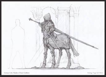 Saladino, Centaur Colt by Rodrigo-Vega