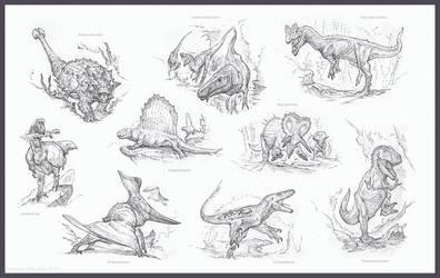 Chronomancer's Dinosaurs