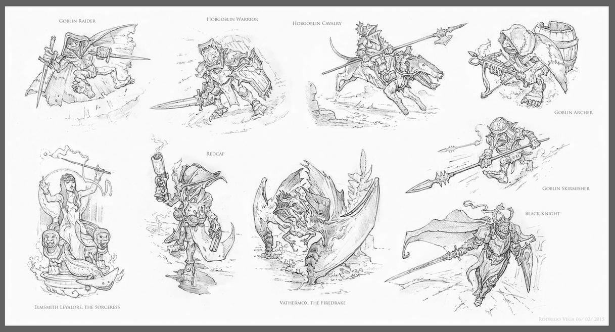 Chronomancer's Siege on Castle Olaf by Rodrigo-Vega