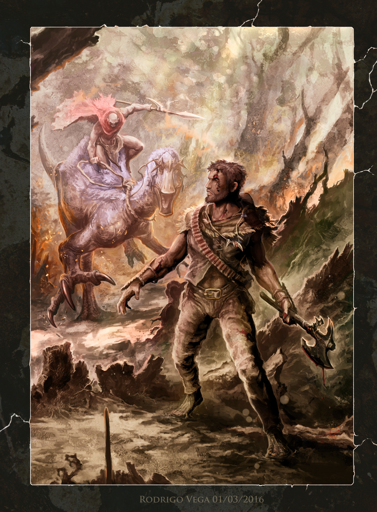 Primal Frontier: Shaman of Dread by Rodrigo-Vega
